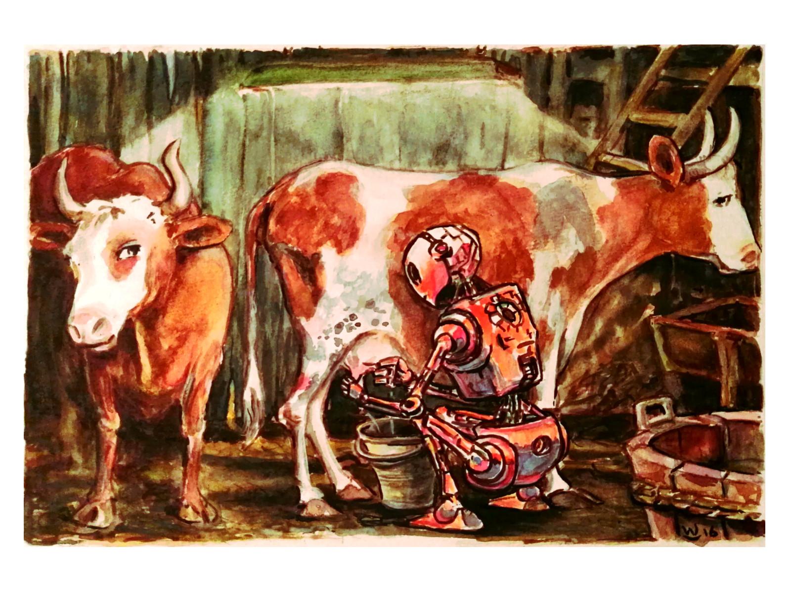 milkingthecow